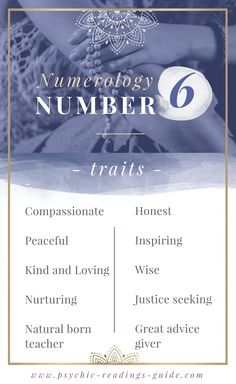 Those with the Numerology number 6 are peaceful and compassionate. Read all the number 6 traits, best career choices, love matches and challenges here. Life Path 6, Life Path Number, Numerology Compatibility, Love Compatibility, Astrology Numerology, Numerology Numbers, Numerology Chart, Horoscope Love Matches, Expression Number