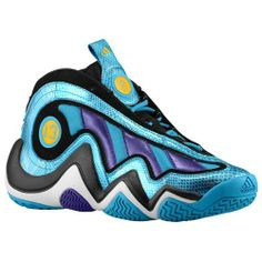 adidas Crazy 97 - Men's - Basketball - Shoes - Creole Blue/Purple/Gold