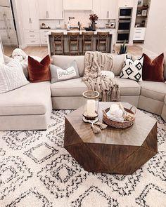 Living Room Redo, Cozy Living Rooms, Home Living Room, Living Room Designs, Living Spaces, Western Living Rooms, Dream Rooms, Living Room Inspiration, Home Furniture