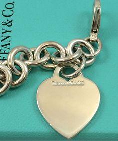 Tiffany&Co. Sterling Heart Bracelet