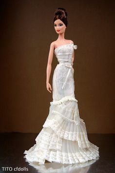 "Barbie ""The Romanticist"" Vera Wang Bride II"