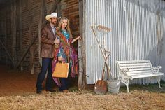 Spring Fashion 2015: Blooming Rustic - Cowboys & Indians Magazine - April 2015