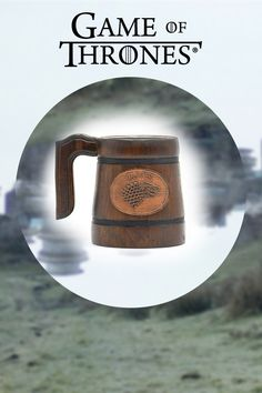 This is cool present for your friends who like GoT. There is a stainless still insert inside the wooden part of the mug. You can make our own desighn if you want. Game Of Thrones Gifts, Game Of Thrones Fans, Cool Presents, Make It Yourself, Mugs, Friends, Vintage, Etsy, Amigos