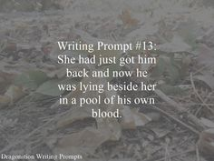 Writing Prompt Dragonition 13