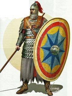 byzantine heavy infantry