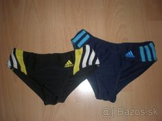 Plavky Adidas - už len modré, veľ. 128 - 1
