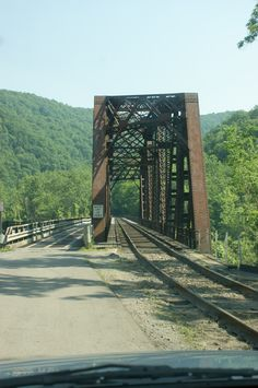 The ghost town of Thurmond, West Virginia - once a prosperous coal mining town, is now home to 7 people.