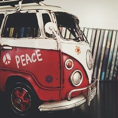 Practice what the hippie-mobile preaches :)