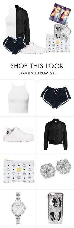 @venus_Lynn by ashantisowell on Polyvore featuring NLY Trend, Sans Souci, My Mum Made It, NIKE, MCM, Kate Spade and Chiara Ferragni