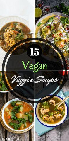 15 Delicious Vegan Soup Recipes