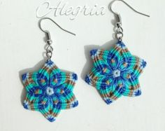 A modern fable , micro macrame necklace tutorial Macrame Earrings Tutorial, Necklace Tutorial, Earring Tutorial, Macrame Necklace, Macrame Jewelry, Crochet Earrings, Micro Macramé, Macrame Dress, Seed Beads