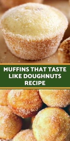 Muffins That Taste Like Doughnuts What you need: cup sugar 1 large egg 1 cups all-purpose flour 2 tsp baking power tsp salt tsp ground nutmeg cup vegetable oil cup milk 1 tsp vanilla Muffin Recipes, Baking Recipes, Cookie Recipes, Mini Donut Recipes, Lemon Dessert Recipes, Baking Ideas, Food Cakes, Cupcake Cakes, Baking Power