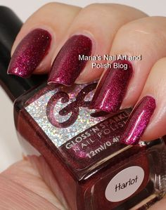 Gloss 'n Sparkle Harlot swatches