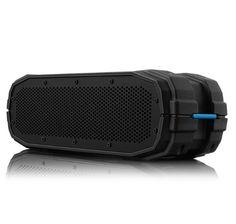 BRAVEN BRV-X Portable Wireless Bluetooth Speaker [12 Hour Playtime][Waterproof] Built-In 5200 mAh Power Bank Charger - Black