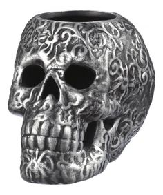 Look at this Silver Skull Tealight Holder on #zulily today!