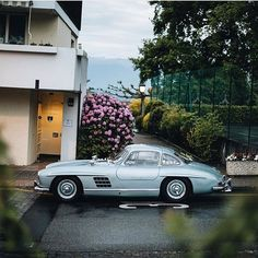 "8,023 Likes, 30 Comments - Car&Vintage® (@car_vintage) on Instagram: ""• Vertical perspective. Mercedes Benz 300 SL ""Gullwing"" W198 - 1955' • www.carandvintage.com By…"""