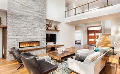 Les avantages d'avoir un foyer électrique avec la saison froide qui arrive! #foyerélectrique #automne #rénovation