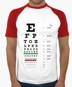 Camiseta Optica A Camiseta hombre, estilo béisbol  18,90 € - ¡Envío gratis a partir de 3 artículos!