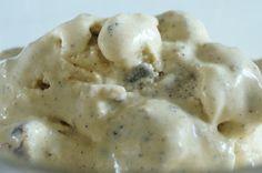 Sukkerfri is med cookie dough