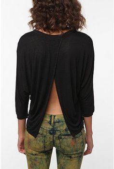 black tulip-back top $44 urbanoutfitters.com