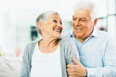Портрет Счастливая Пожилая пара – роялти-фри стоковая фотография