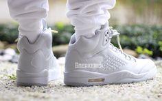 80f1b2510707 Air Jordan 5 Take Flight Triple White - Sneaker Bar Detroit