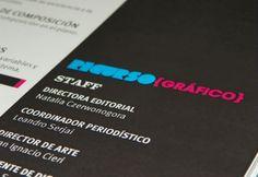 Diseño de una revista de publicación mensual sobre diseño gráfico y digital  Design of a monthly magazine about graphic design