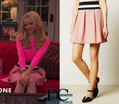 """Liv & Maddie """"Scoop-A-Rooney"""" // April 24, 2016 Maeve Ballad Swing Skirt - sold out at Anthropologie """"eBay: medium Last worn HERE """""""