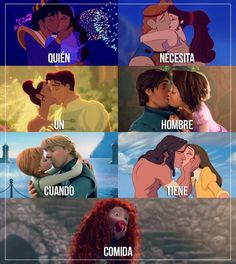 Imagem de food, disney, and kiss Funny Disney Memes, Disney Jokes, Really Funny Memes, Stupid Funny Memes, Kawaii Disney, Spanish Memes, Disney And Dreamworks, Best Memes, Funny Pictures