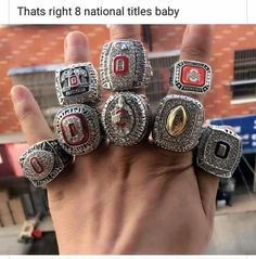 Cheap championship rings, Buy Quality ring ring directly from China ohio state championship ring Suppliers: PCs) Set 2002 2008 2010 2014 2014 2014 2015 Ohio State Buckeyes NCAA National Championship Ring Buckeyes Football, Ohio State Football, Ohio State University, Ohio State Buckeyes, College Football, Championship Rings, National Championship, Ohio State Tattoos, Football Rings