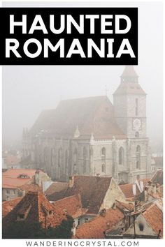 Romania's Most Haunted Places, Things to do in Romania that give you the fright of a lifetime! See the world's most haunted forest or spend the night in Dracula's Castle! Most Haunted Places, Spooky Places, Hoia Baciu Forest, Haunted Forest, Haunted Houses, Dracula Castle, Hunting Shows, Visit Romania, Romania Travel