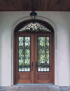 spanish style wooden gates doors by design home custom iron