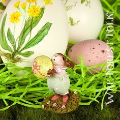 printed easter eggs