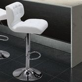 Found it at Wayfair - Formula Adjustable Height Bar Stool with Cushion