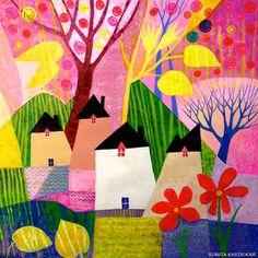 UK ~ Sunita Khedekar, paintings