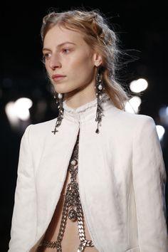 Alexander McQueen embellished earrings