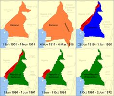 The Shifting Borders of Cameroon/Kamerun