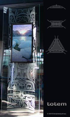 #Excogitare Digital Signage Totem32