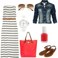 I will have this outfit this spring! Love Of Family & Home: Let's Talk Fashion....20 Outfits For Summer