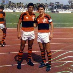 #Flamengo (1988): #Delacir and #Zico   MT @flamengoantigo