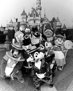 "On March 15, 1991, stars from television's four ""Disney Afternoon"" animated series began delighting Disneyland park guests along ""Afternoon Avenue,"" a festive themed area in Fantasyland near ""it's a small world."" During its popular eight-month run, guests could meet stars from ""Duck Tales,"" ""Tale Spin,"" ""Chip 'n Dale Rescue Rangers"" and ""Gummi Bears,"" including Launchpad McQuack, Scrooge McDuck, Gadget, and, at his own dressing room, Baloo!"