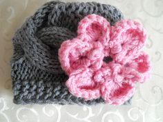 Baby Girl Knit Hat