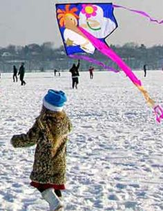Lake Harriet Winter Kite Festival - kites of all shapes and sizes will fly over the frozen lake