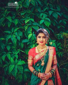 Wedding Ideas - Number one for real weddings and fabulous planning ideas for bride, wedding dresses, bridesmaids, wedding cakes and much Bridal Poses, Bridal Photoshoot, Indian Bridal Outfits, Indian Bridal Fashion, Bride Photography, Indian Wedding Photography, Marathi Bride, Marathi Nath, Marathi Saree