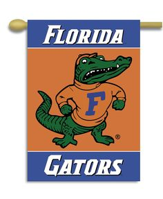 "NCAA Florida Gators 2-Sided 28"""" X 40"""" Banner W/ Pole Sleeve"