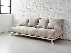 Poltrona Letto Futon : Poltrona letto futon roots karup in legno wenge alessia