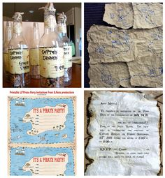 - Pirate Party Theme Inspiration Board