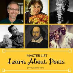 Here at Poetry Teatime, we've introduced many poets. We've celebrated poets from history through themed teatimes, and we've interviewed children's poets writing today. This master list includes all of our articles about poets both past and present. Father Goose, Robert Louis Stevenson, Roald Dahl, Poetry Books, Literacy, Interview, Learning, History, Children
