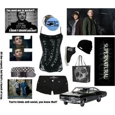 """""""supernatural"""" by sweetfreak94 on Polyvore"""