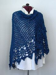 All Shawl by Doris Chan Designs: FREE crochet pattern